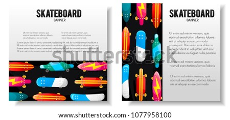 skateboard template download free vector art stock graphics images
