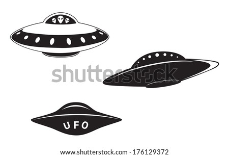 alien in the ufo illustration download free vector art stock