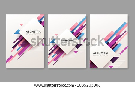 set of abstract geometric