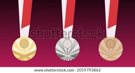 set of abstract  gold  silver