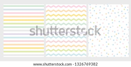 set of 3 abstract multicolor