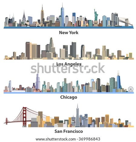 set of abstract united states