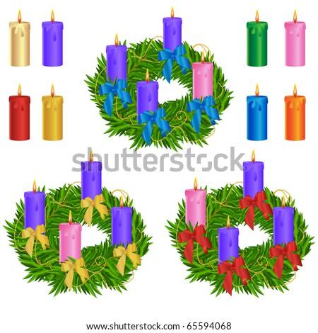 Free Advent Wreath Vectors Download Free Vector Art Stock