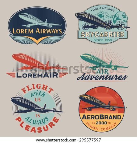 set of aircraft and air