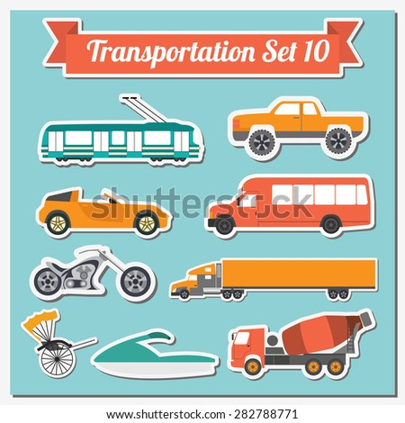 set of all types of transport
