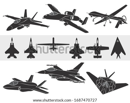 set of american fighter