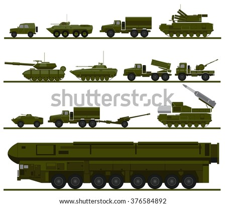 set of armed forces units