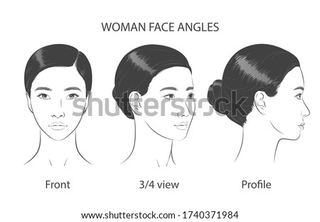 set of asian korean women