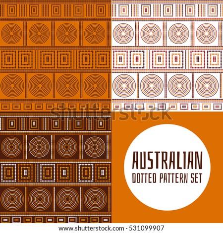 set of 3 australian tribes