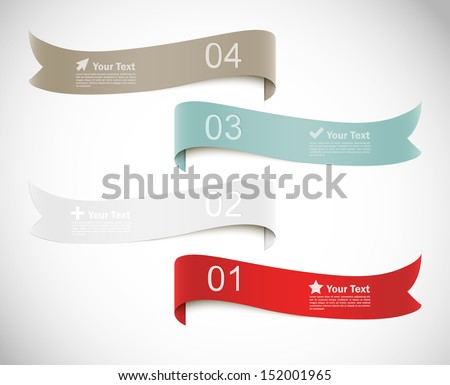 Shutterstock Set of banners