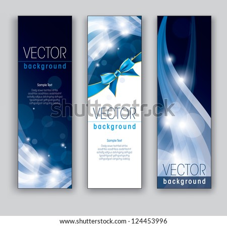 Set of Banners. Vector Illustration. Eps10 Format.