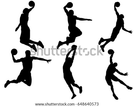 free basketball players vectors rh vecteezy com basketball player vector free download basketball playing vector