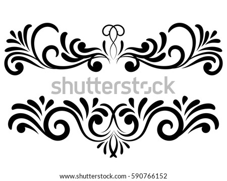 5 floral ornaments download free vector art stock graphics images