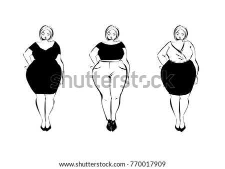 71fab051cc8f Woman Silhouette Vector Set - Download Free Vector Art