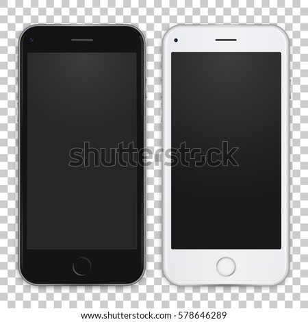 set of black and white smart