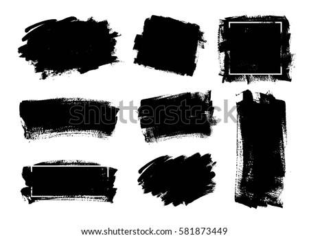 95be6fafa67e Free Black Brushstrokes Vectors - Download Free Vector Art