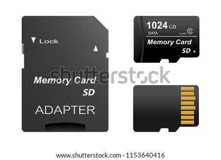 set of black standard 1024 gb