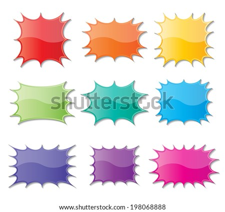 colorful starburst download free vector art stock graphics images