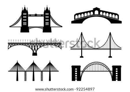 Set of bridge