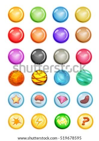 set of bubbles and magic balls