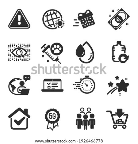 set of business icons  such as