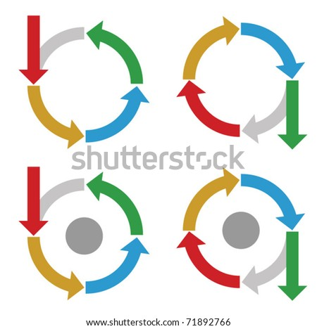 Set of Business process diagrams