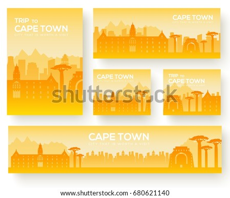 set of cape town landscape
