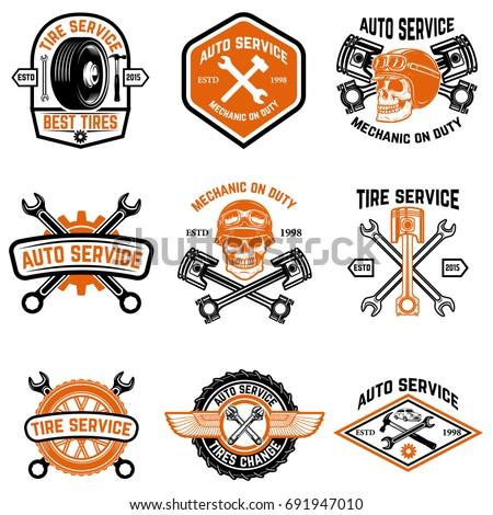 set of car service  auto