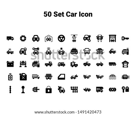 set of Car set, such, car,truck and key.