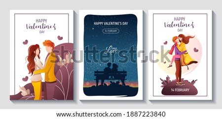 set of cards for happy