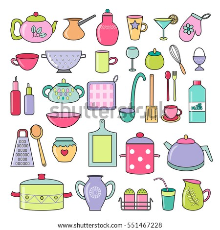 Vector Images Illustrations And Cliparts Set Of Cartoon