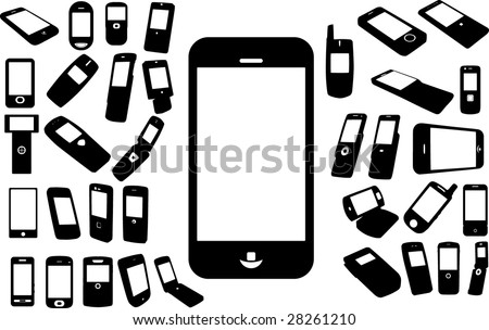 Set of cell phones