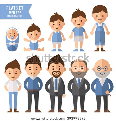 set of characters in a flat