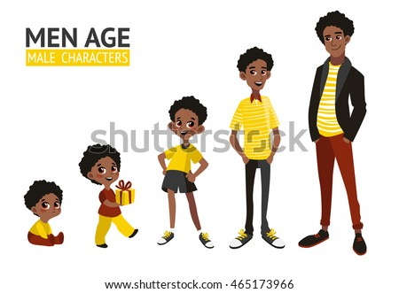 set of characters in cartoon