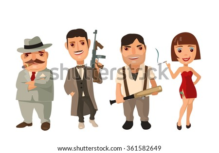 set of characters mafia don