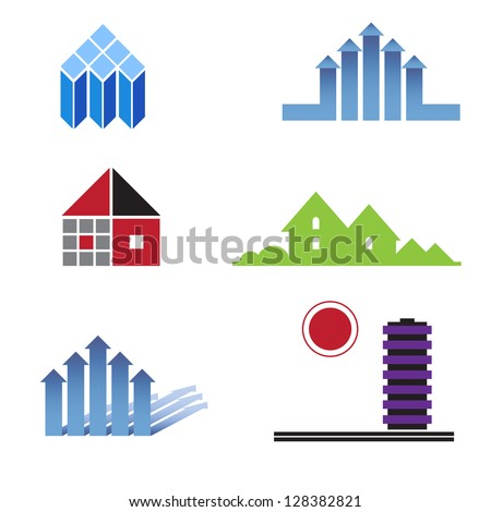 Set of characters on real estate and construction, design of facilities, purchase and sale of real estate.