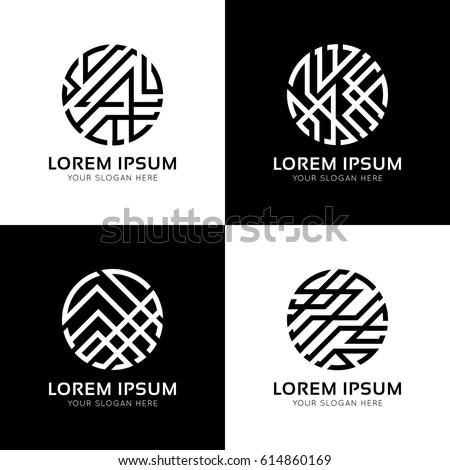 Geometric Logo Template Free Vector 123freevectors