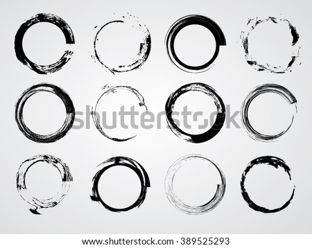 set of circle shapescircle
