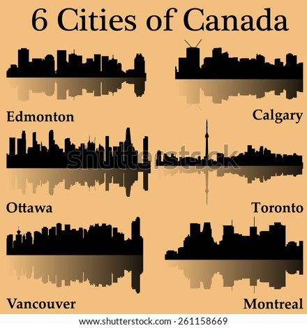 an essay on the six cities in canada Finally, canada's cities are clean and efficiently managed canadian cities have many parks and lots of space for people to live as a result, canada is a desirable place to live.