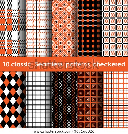set of 10 classic seamless