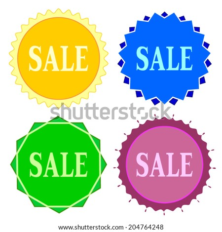 Set of colorful button.Vector illustration #204764248