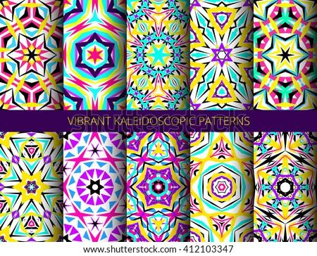 Geometric Kaleidoscope Pattern Download Free Vector Art Stock Awesome Kaleidoscope Patterns