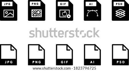 set of computer image files and
