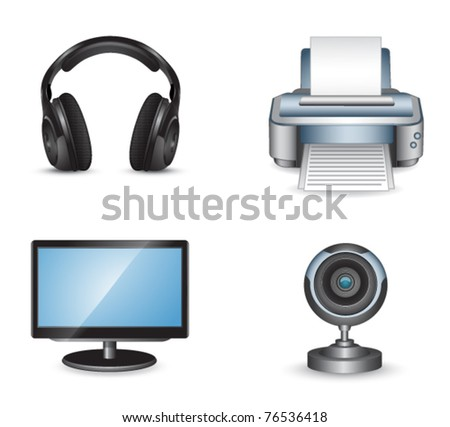 Set of computer objects