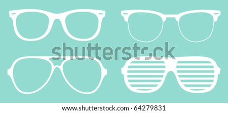 set of cool glasses