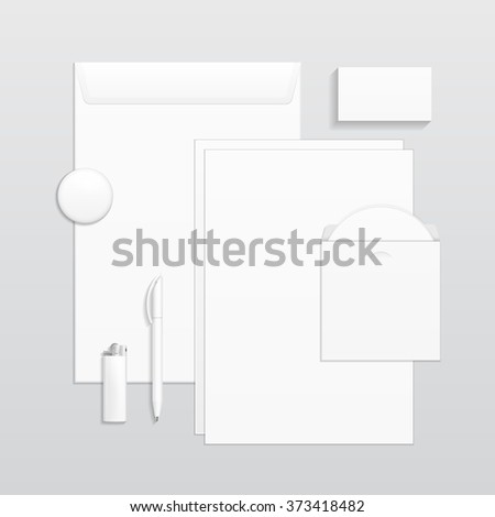 Set of corporate identity and branding stationery templates set of corporate identity and branding stationery templates business card pen cd maxwellsz