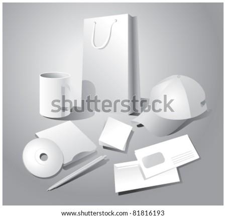 set of corporate templates