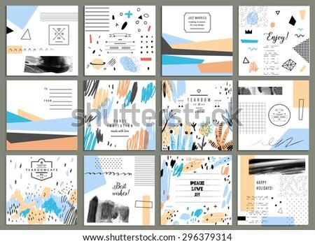 set of 12 creative universal