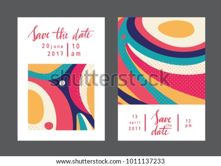 Simple anniversary collection vector set download free vector