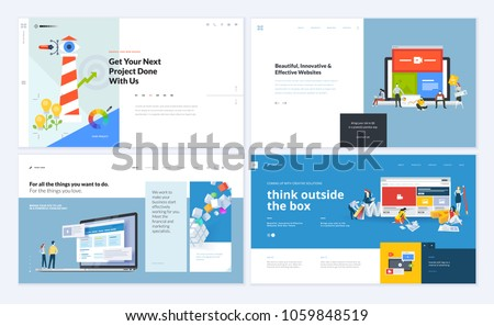 Free Flat Responsive Web Design Vector Background Download Free